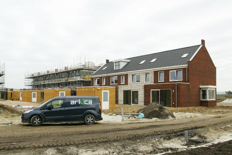Kitbedrijf Brabant Arluca Kitvoegafdichting BV Nieuwbouw project Heijmans