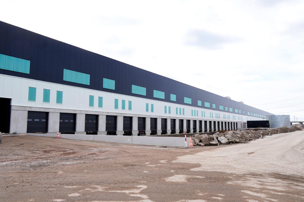Nieuw distributiecentrum Bleiswijk - Kitwerk voor Cordeel
